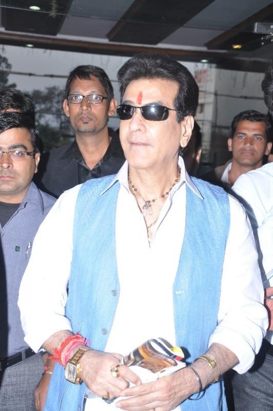 Actor Jitendra in Moradabad