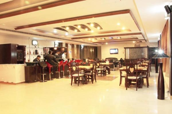 Modern style bar available in our Moradabad Hotel